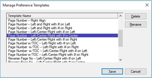 Image of page break edit dialog